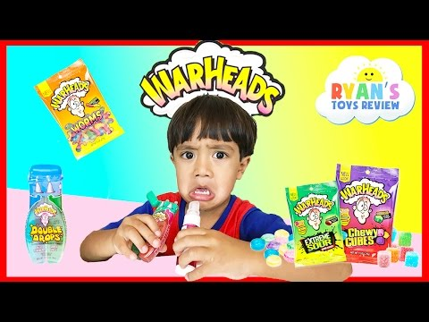 EXTREME WARHEADS CHALLENGE Sour Candy