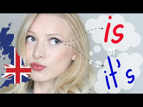 IS or IT'S - Most Common English Errors | English Grammar & Pronunciation Mistakes