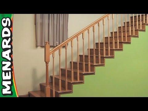 Installing Stair Rails - Menards