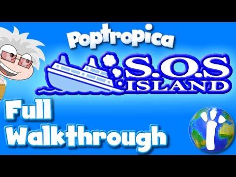 ★ Poptropica: S.O.S. Island FULL Walkthrough ★