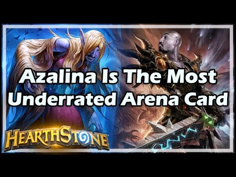 [Hearthstone] Azalina Is The Most Underrated Arena Card