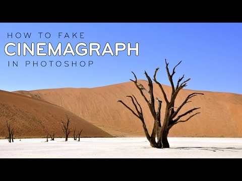 Photoshop Tutorial: Create Cinemagraph with Fake Clouds [Photoshopdesire.com]