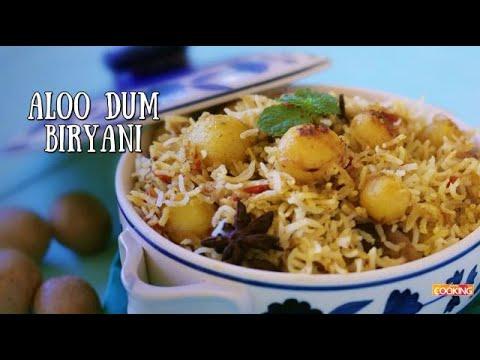 Aloo Dum Biryani | Veg Biryani