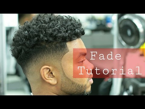 D'Angelo Russell Haircut! Mens Long Curly Hairstyle with Fade on Sides! Duke style