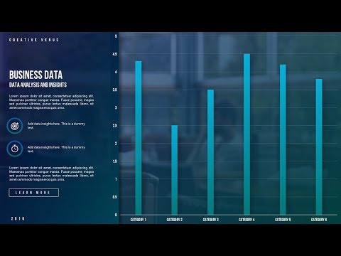 How To Create Beautiful Analytics Data Chart and Insights in Microsoft Office 365 PowerPoint PPT