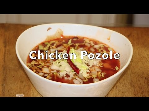 How to make Chicken Pozole ( Mexican spicy 🌶 soup 🍜)