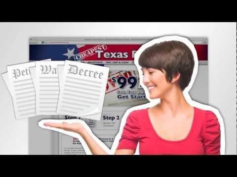 Cheapest Texas Divorce