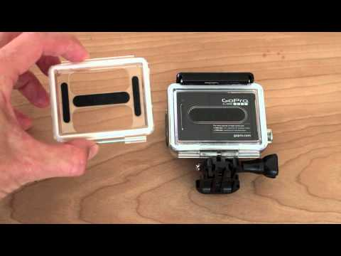 How To Change GoPro Hero 3 Back Door