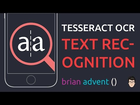 iOS Swift Tutorial: Easy Text Recognition with Tesseract OCR