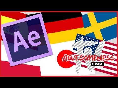 Change the language settings of Adobe After Effects