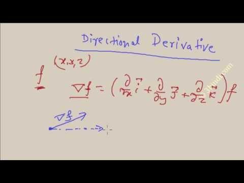 GATE Engineering Mathematics- Directional Derivative - Vector calculus part-12