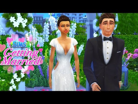 The Sims 4 - WEDDING DAY!! SIMS 4 Gameplay! (Sims 4, Episode 24)
