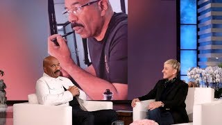 Steve Harvey's Son Exposed His Dad's Mustache Grooming Routine