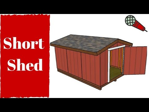 Free Short Shed Plans