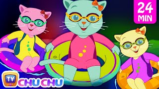 Three Little Kittens Went To The Swimming Pool and Many More Nursery Rhymes by Cutians | ChuChu TV