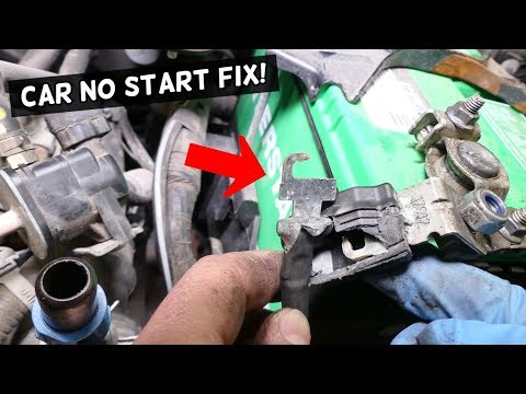 CAR DOES NOT START.  REPLACE STARTER FUSE FIX