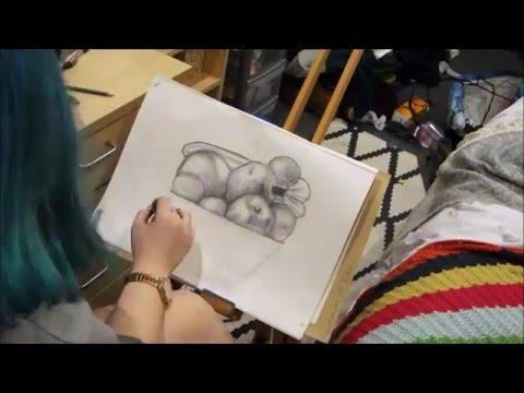 Fruit Bowl Speed Drawing