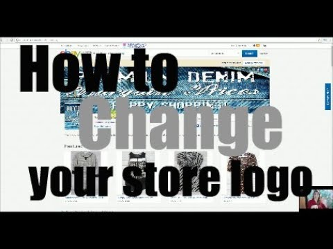 How to Change your eBay Store Logo!