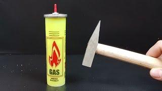 Science Experiment LIQUID NITROGEN vs GAS