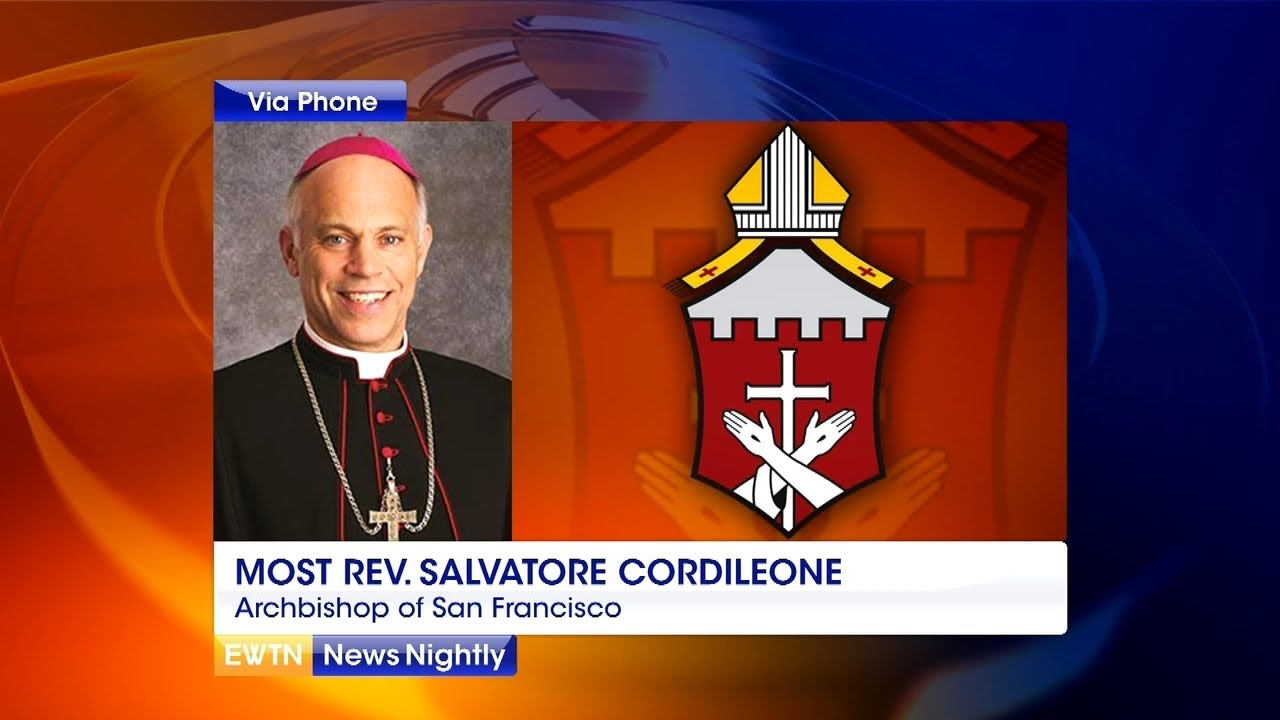 Archbishop Salvatore Cordileone Responds to Speaker Pelosi's Claims About Holy Communion