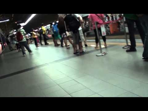 MRT Cubao Station with Amboy