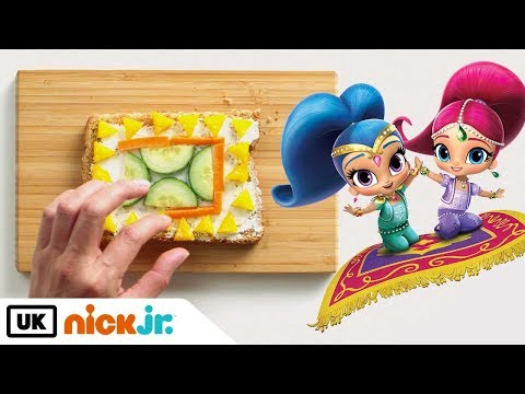 Nick Jr. Create | Shimmer and Shine Magic Carpet Sandwich | Nick Jr. UK
