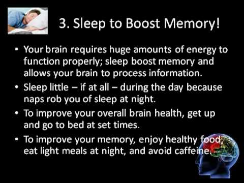 Brain Health Tips to Increase Your Memory, Concentration, Attention etc.