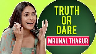 Mrunal Thakur plays truth or dare | Super 30, Love Sonia | CineBlitz