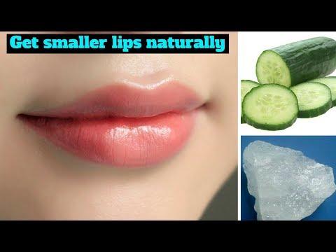 मोटे होटों को पतला गुलाबी और खूबसूरत बनाए | How To Get Smaller Lips & Pink Lips naturally