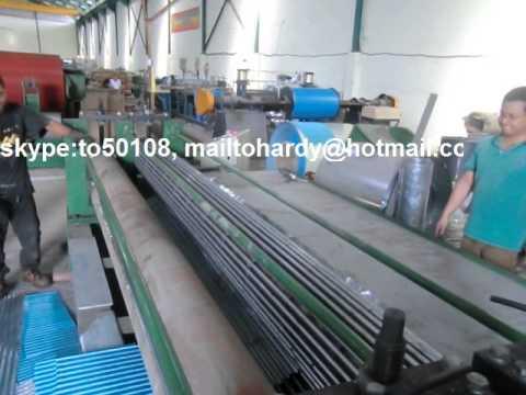 sheet corrugation forming machine, thin sheet corrugating machine, corrugated roof forming machine