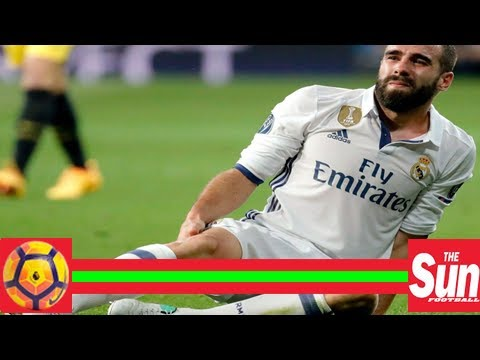Real madrid defender dani carvajal out indefinitely with viral infection of the heart
