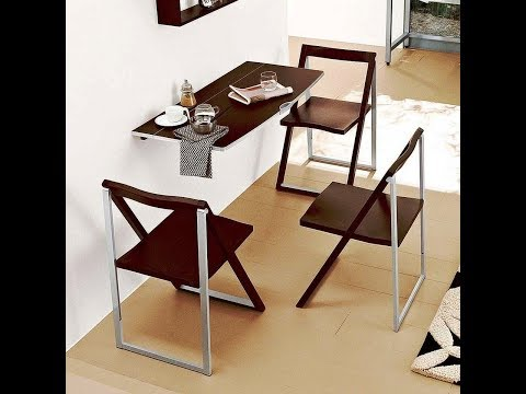 Folding Wall Table Ideas To Save Precious Spaces In Small Houses