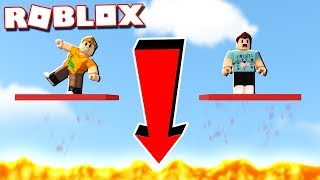 Roblox Adventures - SURVIVE THE PLATES OF DOOM IN ROBLOX! (Plates of Doom)
