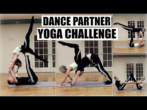 Dance Partner Yoga Challenge