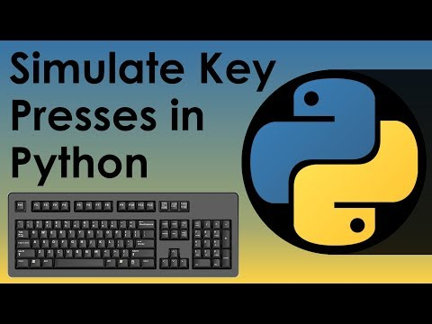Simulate Key Presses in Python