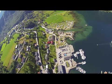 RAW Wingsuit Flight: 'La Esquina' Flying over Geiranger