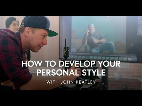 John Keatley on Developing Your Personal Style
