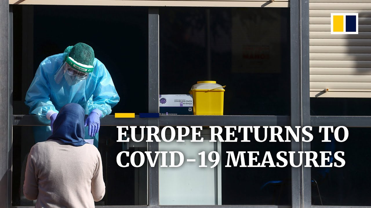 Stepped-up Covid-19 restrictions 'absolutely necessary' as Europe enters new wave ahead of winter
