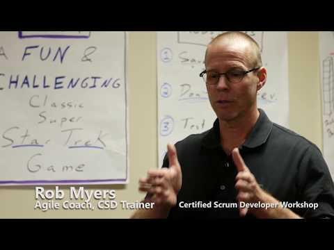 Rob Myers Training Video - Certified Scrum Developer