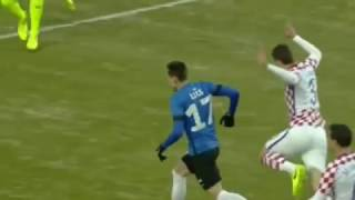 Estonia - Croatia 3-0 Goals and Highlights 28/03/2017