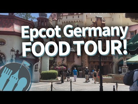 Disney World Germany Food Tour: Nosh or Not? in Epcot's Germany Pavilion