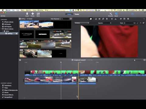 How To Use Green Screen In iMovie 10 +