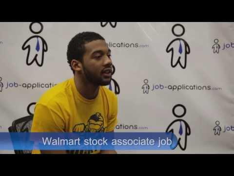 Walmart Interview -  Stock Associate