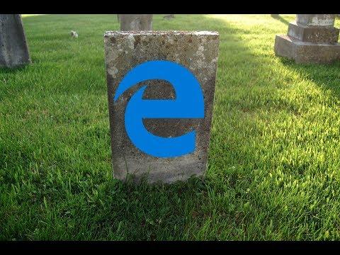 Who killed the Edge browser: Microsoft or Google (YouTube)?