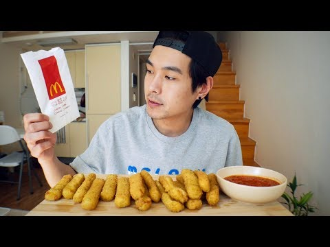 McDonald's Mozzarella Sticks