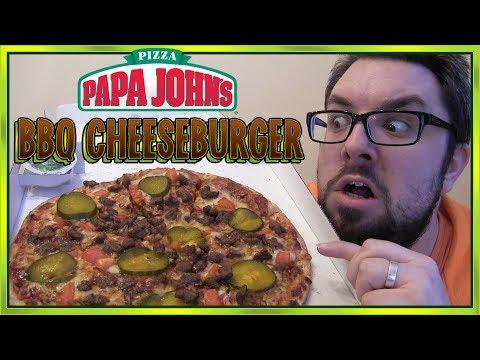 Papa John's BBQ Cheeseburger Pizza Review