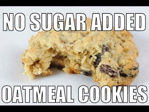 No Sugar Added : Oatmeal Cranberry Cookies