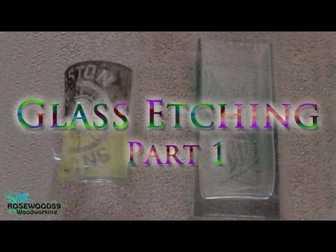 Hobby In A Box Episode 4 How To Etch Glass Armour Etching
