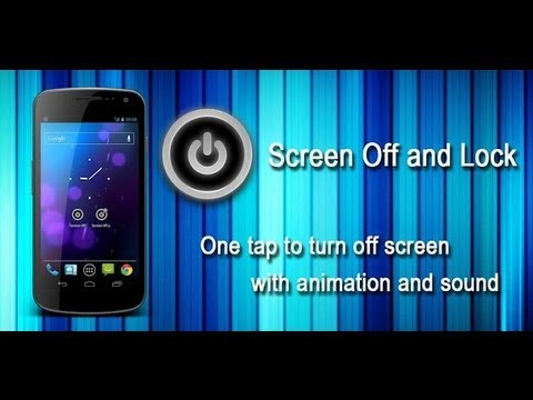 Screen off and lock: How to change your animation and sound effect