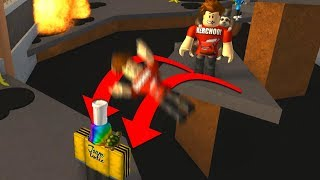 If He Makes This Jump I Give Him My Rarest Roblox Item..